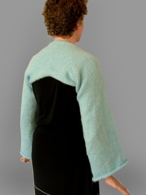 Bell-Sleeved Shrug