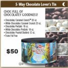 5 Way Chocolate Lovers Tin