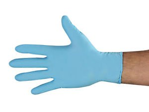 Disposable Nitrile 3 Mil Powder Free Textured Glove Case of 1000