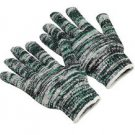 Regular Weight Multi Color Knit Glove, Size Large, Sold by the Dozen