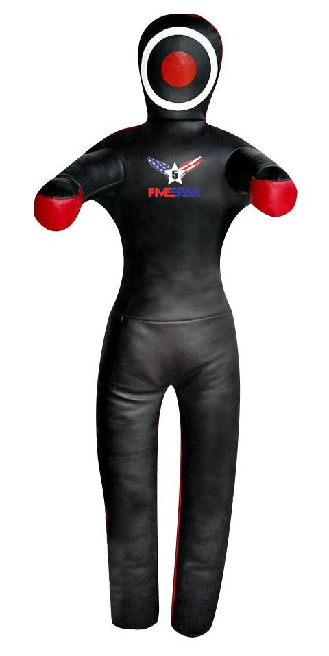 Black Leather Made MMA Fighting Wrestling Bag
