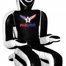 Black And White Synthetic Leather MMA Dummy