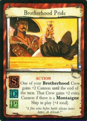 Brotherhood Pride - Rare - Strange Vistas