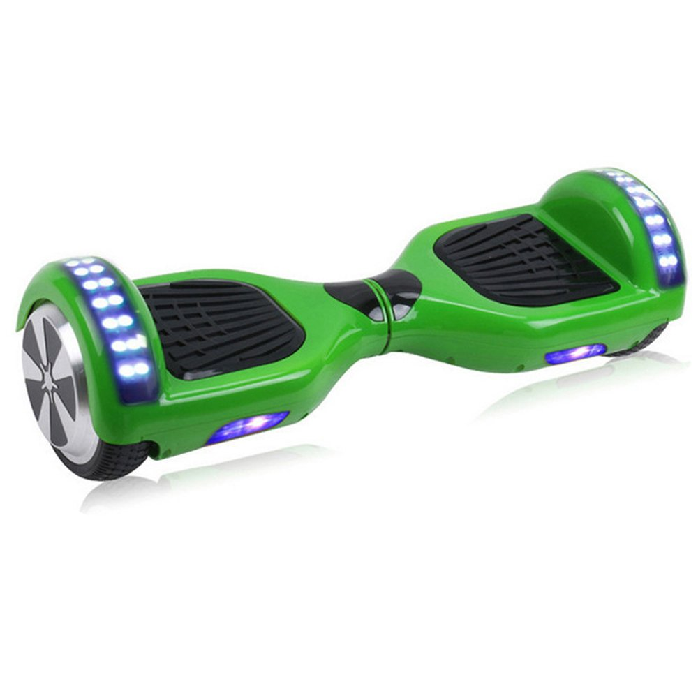 6.5 Inch Bluetooth LED Hoverboard Self Balancing Scooter Green