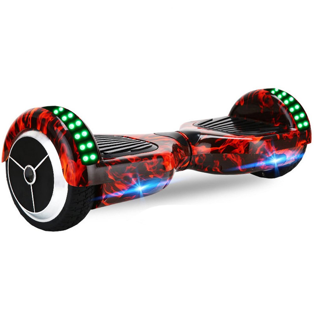 6.5 Inch Bluetooth LED Hoverboard Self Balancing Scooter Flame