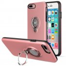 360 Degree Rotating Ring Grip Case for iPhone 7 Plus Pink