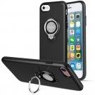 360 Degree Rotating Ring Grip Case for iPhone 7 Black