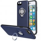 360 Degree Rotating Ring Grip Case for iPhone 6 Blue