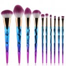 10PCS Make Up Foundation Eyebrow Eyeliner Blush Cosmetic Concealer Brushes