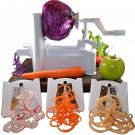 Spiral Vegetable Slicer with Three Blades Veggie Fruit Spiral Slicer