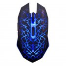 2.4Ghz Wireless Optical Gaming Mouse with USB Receiver blue
