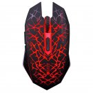 2.4Ghz Wireless Optical Gaming Mouse with USB Receiver Red