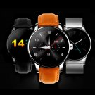 K88H Smart Bluetooth Watch Heart Rate Monitor Smartwatch Siri Function Gesture Control Silver