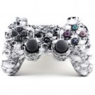 Bluetooth Wireless Controller for PS3 Double Shock Skull