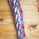 "Zigi NY Piarry Bright Mutli Snake 4.5"" Heel Thigh High Boot 7-11"