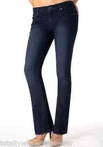 Revolt Medium Blue Barely Bootcut Stretch Jean 15 x  37 Tall Jeans