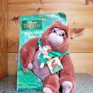 """1998 Disney Tarzan Heartbeat Kala 11"""" Mom & Baby Gorilla Mattel New In Package"""