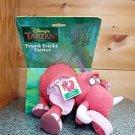 Disney Tarzan Trunk Tricks Tantor Trumpeting Plush Elephant Toy 1998 New In Box