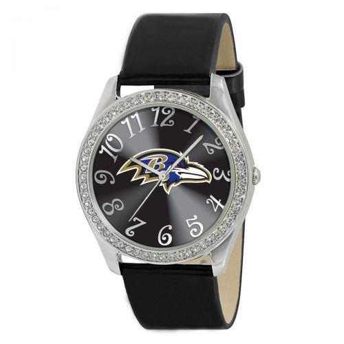 Baltimore Ravens Ladies Glitz Watch