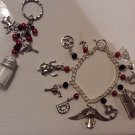 SUPERNATURAL THEMED charm bracelet