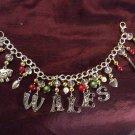 WALES charm bracelet