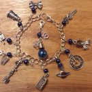 DOCTOR WHO themed charm bracelet