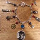 SHERLOCK (Benedict Cumberbatch) charm bracelet