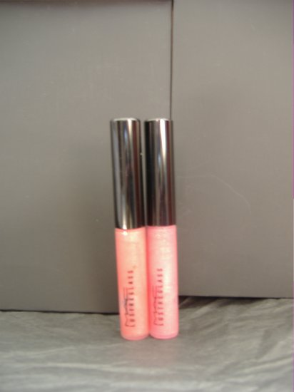 MAC LIP GLOSS - LOT OF 2
