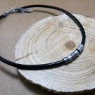 Men Necklace - Men Choker Necklace - Men Leather Necklace - Men Jewelry - Men Gift