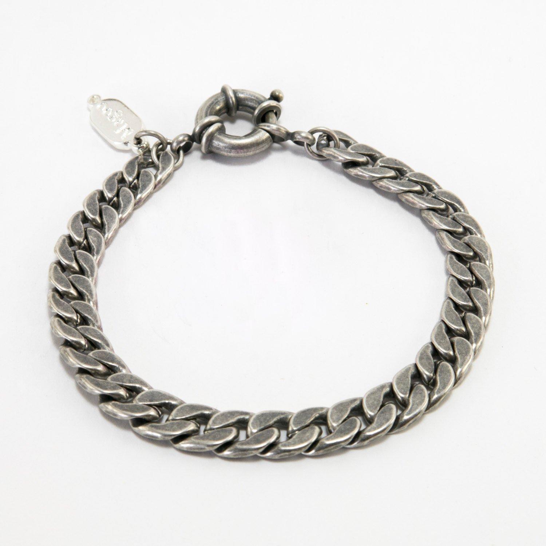 Men Bracelet - Men Silver Bracelet - Men Jewelry - Men Vegan Bracelet - Men Gift
