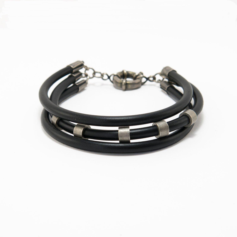 Men Bracelet - Men Vegan Bracelet - Men Beaded Bracelet - Men Jewelry - Men Gift