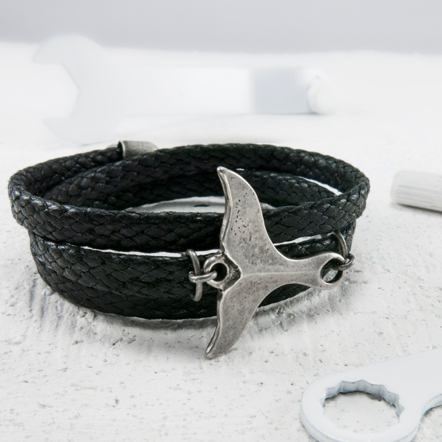 Men Bracelet - Men Jewelry - Men Nautical Bracelet - Men Vegan Bracelet - Men Gift