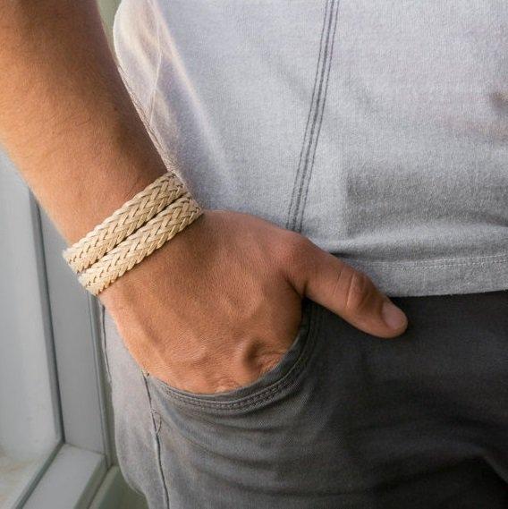 Men Bracelet - Men Jewelry - Men Vegan Bracelet - Men Gift - Bracelets For Men