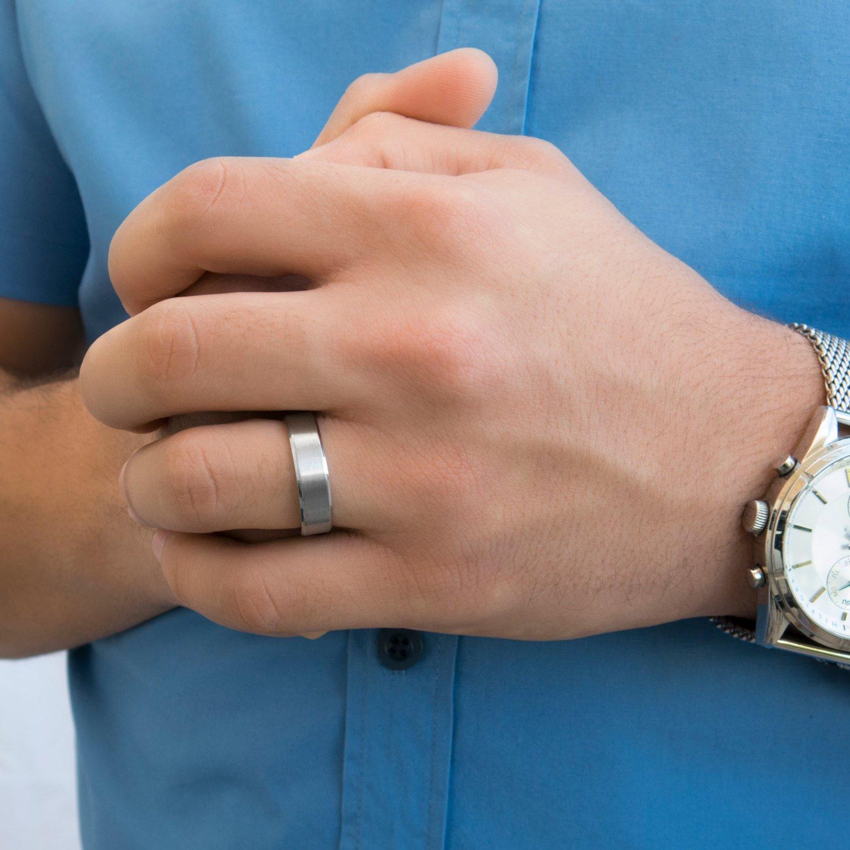 Men's Ring - Men's Stainless Steel Ring - Men's Wedding Ring - Men's Jewelry - Men's Gift