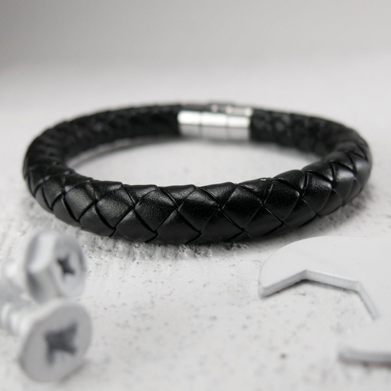 Men's Bracelet - Men's Leather Bracelet - Men's Jewelry - Men's Gift - Boyfriend Gift - Guys