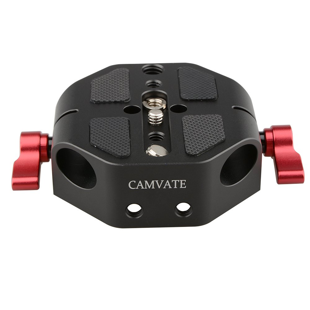 CAMVATE Baseplate (Red Wingnut) For C100/300/500