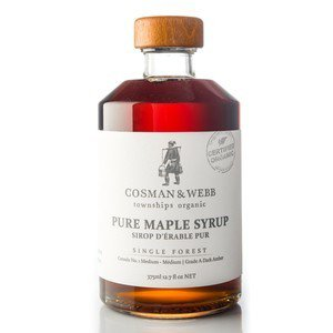 Pure, Organic Maple Syrup 375ml (12.7 fl oz)
