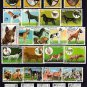 DOGS - HUNTING DOGS - POODLE - TERRIER ++++ - 59 DIFFERENT - CTO NH STAMPS!