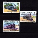TOGO - 1985 - TRAINS - AFRICAN LOCOMOTIVES - OVPT - MINT SET!