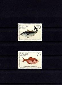PORTUGAL - MADEIRA  - 1986 - FISH - MARINE LIFE - 2 X MINT SET!