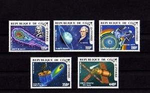 IVORY COAST - 1985 - SPACE - HALLEY - COMET - SKYLAB + 5 X MINT SET!