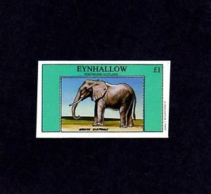EYNHALLOW (SCOTLAND) - 1982 - ELEPHANT - AFRICAN ELEPHANT - MINT SINGLE!