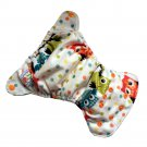Happy Flute Newborn 3-6 kg. Washable Reusable Diapers Nappy Baby Cloth