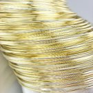 CHIC 44 PC Thin Gold Metal Plus Size Wide Bangle Bracelets