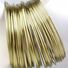 CHIC 44 PC Thin Antique Burnished Gold Metal Plus Size Wide Bangle Bracelets