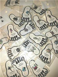 WHOLESALE 12 PCS Assorted Mixed Austrian Crystals Invisible Stretch Toe Rings