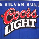 COORS LIGHT Beer FLAG, 3'x5' cloth poster banner FLAG