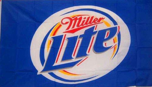 MILLER LITE Beer FLAG, 3'x5' cloth poster banner FLAG