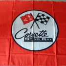 CORVETTE Stingray FLAG, 3'x5' Flag banner cloth poster FLAG