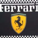 FERRARI Black Checkered FLAG, 3'x5' Flag banner cloth poster FLAG